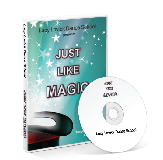 Lucy Lovick Dance School - Just like magic DVD
