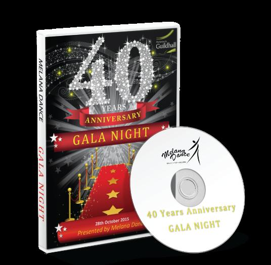 Melana Dance - 40 Years Anniversary<br /> 28/10/2015 / 18:00