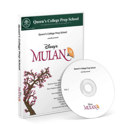 Queen's College Preparatory School - Mulan<br />