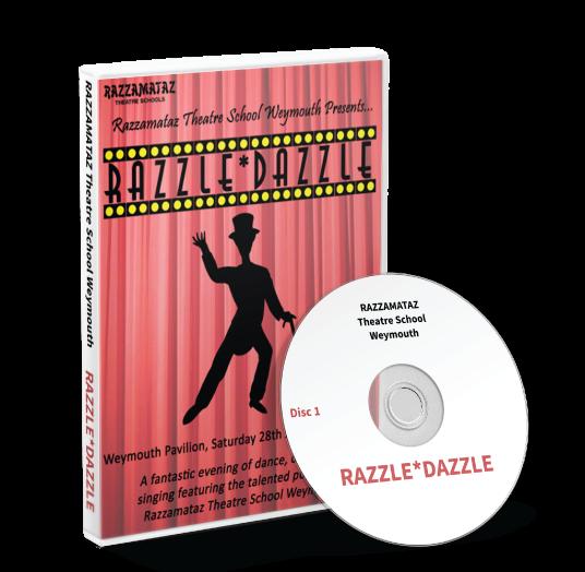 Razzamataz Weymouth - Razzle Dazzle DVD